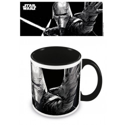 KYLO REN DARK STAR WARS EPISODE IX COLOURED INNER MUG