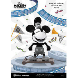 STEAMBOAT WILLIE MICKEY MOUSE 90TH ANNIVERSARY MINI EGG ATTACK FIGURE