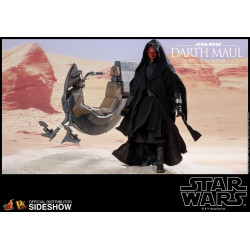 DARTH MAUL AND SITH SPEEDER STAR WARS EPISODE I DX SERIES 1/6 SCALE FIGURE