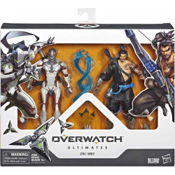 GENJI AND HANZO OVERWATCH ULTIMATES ACTION FIGURES