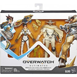 TRACER AND MCCREE OVERWATCH ULTIMATES ACTION FIGURES