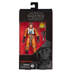 WEDGE ANTILLES STAR WARS 6IN BLACK SERIES E5 ACTION FIGURE