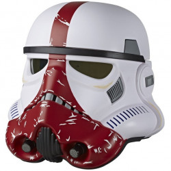 INCINERATOR STORMTROOPER STAR WARS BLACK SERIES ELECTRONIC HELMET