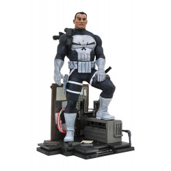 THE PUNISHER MARVEL COMIC GALLERY DIORAMA STATUE