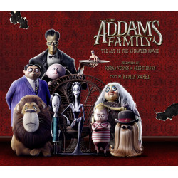 ADDAMS FAMILY ART OF THE ANIMATED MOVIE