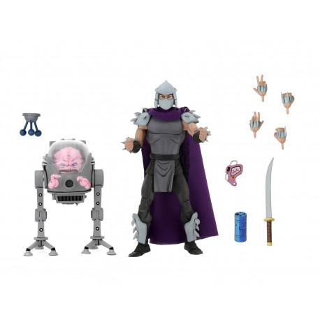 Shredder vs Krang in Bubble Walker Les Tortues ninja pack 2 figurines 18 cm