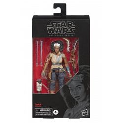 JANNAH STAR WARS BLACK SERIES 6IN E9 BL ACTION FIGURE