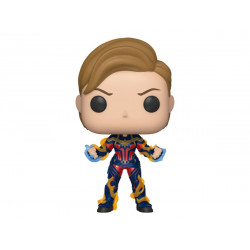 CAPTAIN MARVEL WITH NEW HAIR