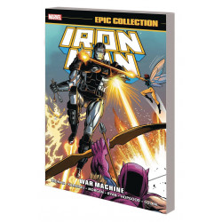 IRON MAN EPIC COLLECTION TP WAR MACHINE