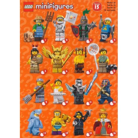 MINI FIGURES LEGO SERIES 15 SACHET MYSTERE