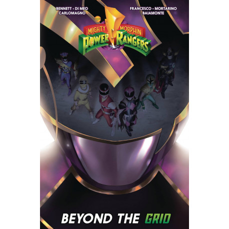MIGHTY MORPHIN POWER RANGERS BEYOND GRID TP
