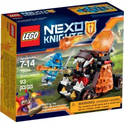 CHAOS CATAPULT LEGO NEXO KNIGHTS BOX