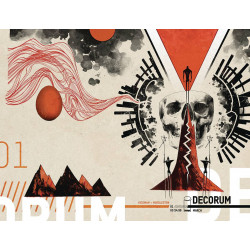 DECORUM 1 CVR B HUDDLESTON
