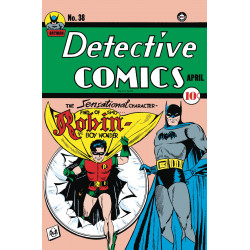 DETECTIVE COMICS 38 FACSIMILE EDITION
