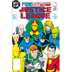 DOLLAR COMICS JUSTICE LEAGUE 1 1987