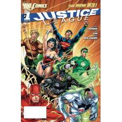 DOLLAR COMICS JUSTICE LEAGUE 1 2011