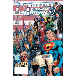 DOLLAR COMICS JUSTICE LEAGUE OF AMERICA 1 2006