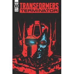 TRANSFORMERS VS TERMINATOR 1 CVR A FULLERTON