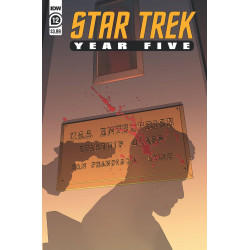 STAR TREK YEAR FIVE VOL 12 CVR A THOMPSON