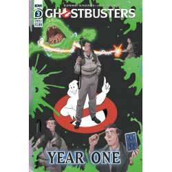 GHOSTBUSTERS YEAR ONE 3 CVR A SHOENING