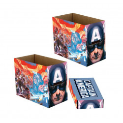 MARVEL BO TES DE RANGEMENT CAPTAIN AMERICA PATRIOT 23 X 29 X 39 CM 5