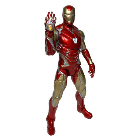 AVENGERS ENDGAME MARVEL SELECT FIGURINE IRON MAN MARK 85 18 CM