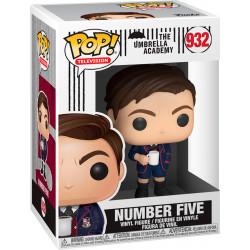 NUMBER FIVE THE UMBRELLA ACADEMY POP! TV VINYL FIGURE