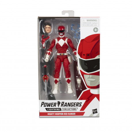 MIGHTY MORPHIN RED RANGER POWER RANGERS LIGHTNING COLLECTION 2019 WAVE 3 FIGURINE 15 CM
