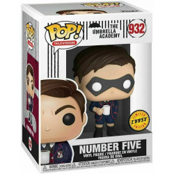 NUMBER FIVE THE UMBRELLA ACADEMY CHASE VERSION POP! TV VINYL FIGURE