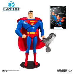 BATMAN THE ANIMATED SERIES FIGURINE SUPERMAN 18 CM
