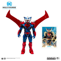 SUPERMAN UNCHAINED FIGURINE SUPERMAN UNCHAINED ARMOR 18 CM
