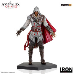 ASSASSIN S CREED II STATUETTE 1 10 ART SCALE EZIO AUDITORE 21 CM