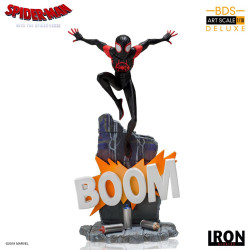 SPIDER-MAN NEW GENERATION STATUETTE BDS ART SCALE DELUXE 1 10 MILES MORALES 22 CM