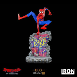 SPIDER-MAN NEW GENERATION STATUETTE BDS ART SCALE DELUXE 1 10 PETER B PARKER 21 CM