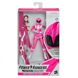 MIGHTY MORPHIN PINK RANGER POWER RANGERS LIGHTNING COLLECTION 2019 WAVE 3 FIGURINE 15 CM