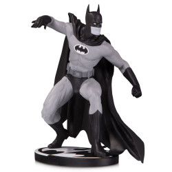 BATMAN BY GENE COLAN BATMAN BLACK AND WHITE STATUE
