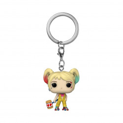 HARLEY QUINN (BOOBYTRAP BATTLE) BIRDS OF PREY POCKET POP! VINYL KEYCHAIN