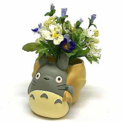 MON VOISIN TOTORO DELIVERED BY TOTORO POT A FLEURS