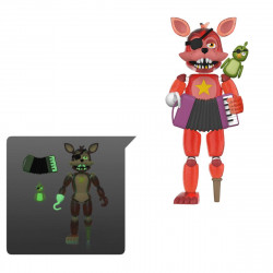 ROCKSTAR FOXY FIVE NIGHTS AT FREDDY'S PIZZERIA SIMULATOR ACTION FIGURINE