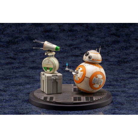 D-O AND BB-8 STAR WARS EPISODE IX PACK 2 ARTFX STATUE