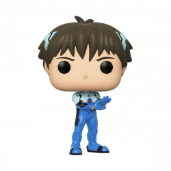 SHINJI EVANGELION POP! GAMES VINYL FIGURE