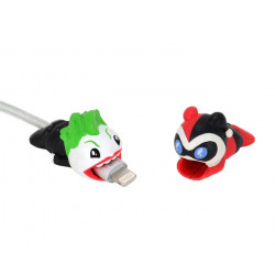 JOKER AND HARLEY DC COMICS PACK 2 FIGURINES MINI SCALERS CABLE COVERS