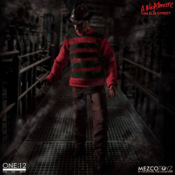 FREDDY KRUEGER A NIGHTMARE ON ELM STREET ONE:12 ACTION FIGURE