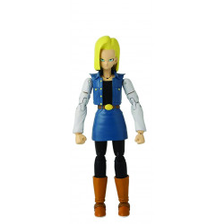 ANDROID 18 DRAGON BALL SUPER DRAGON STAR SERIES 12 ACTION FIGURE