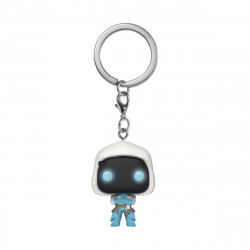 FROZEN RAVEN FORTNITE POCKET POP! GAMES VYNIL KEYCHAIN
