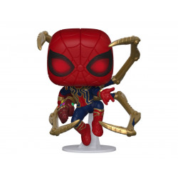 IRON SPIDER WITH NANO GAUNTLET POP! MOVIES VINYL FIGURE