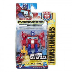 OPTIMUS PRIME TRANSFORMERS CYBERVERSE ACTION FIGURE