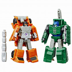 BOMBSHOCK AND DECEPTICON GROWL TRANSFORMERS WFC: EARTHRISE ACTION FIGURE