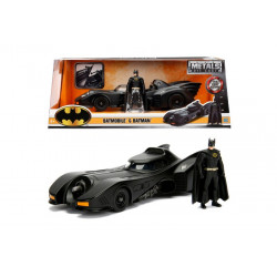 BATMAN AND BATMOBILE REPLICA
