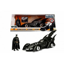 BATMAN AND BATMOBILE BATMAN FOREVER REPLICA